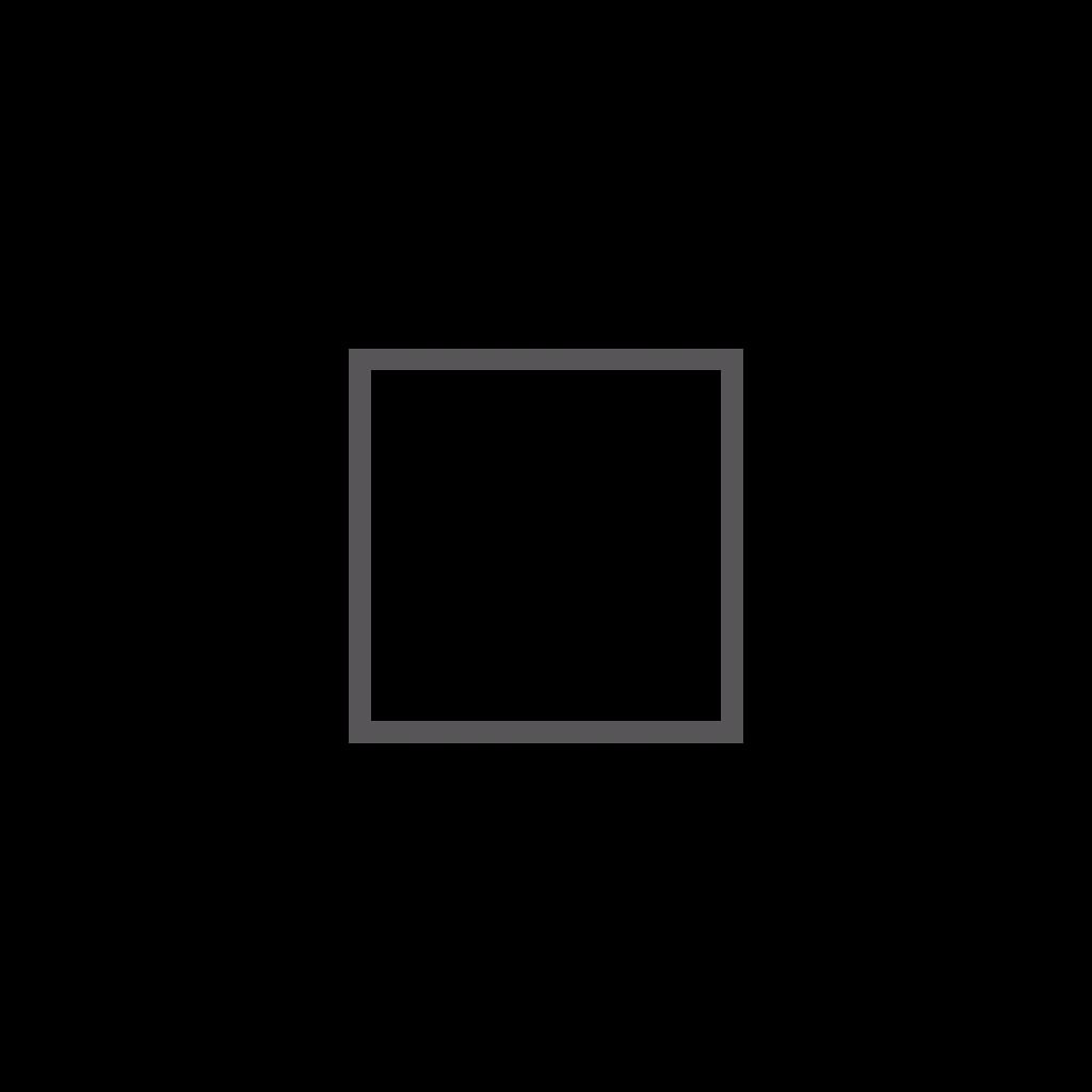 Tubes carrés – angles vifs